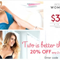 Triumph: $38 OFF 2nd Set or 20% OFF any 2 and More