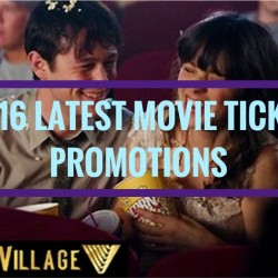 Golden Village: 2016 Latest Movie Ticket Promotions