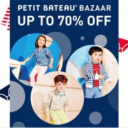 Isetan Scotts: Petit Bateau Bazaar Up to 70% OFF
