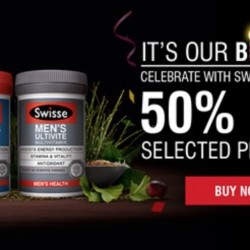 Redmart: 50% OFF Selected Swisse Multivitamins & Supplements