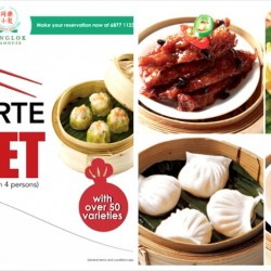 TungLok Teahouse: Ala-Carte Buffet Dinner with Over 50 Varieties