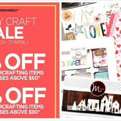 PaperMarket: Crazy Craft Sale Up to 40% OFF All Papercrafting Items