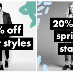 ASOS: Sale - 20% OFF Spring Styles, Shirts, Suits and more!