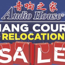 Audio House: Liang Court Relocation Electronics Sale Up to 70% OFF + Extra $20 OFF Every $100 Spent