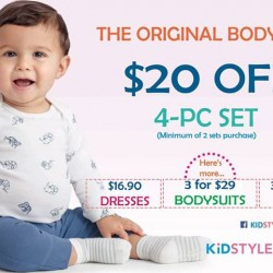 KidStyleSg: Carter's Baby Special Promotion --- S$20 OFF and More!