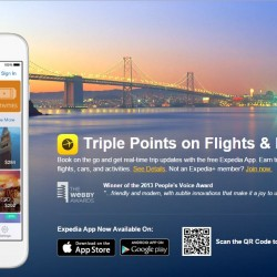 Expedia Singapore: App Exclusive offer --- Extra 8% OFF on hotels booking