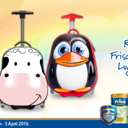 Friso: Free Gift Promotion - Redeem a Silicon Zoo Luggage & $20 Friso Voucher