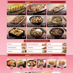Sushi Tei: New Lunch Combo Menu available at Serangoon Gardens & Tampines 1!