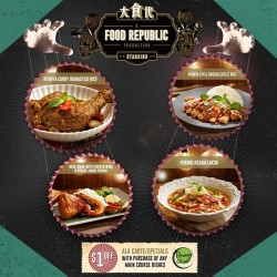 Food Republic @ Westgate: Penang Chiak Opening Promotion
