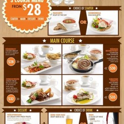 Brotzeit German Bier Bar and Restaurant: 3 Course Menu Promotion --- From S$28 onwards