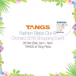 Lorna Jane: Fashion Steps Out Promotion @ Tangs at TANG Plaza