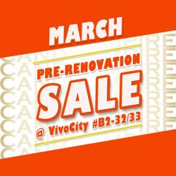 Candy Empire: Pre-Renovation Sale @ VivoCity outlet