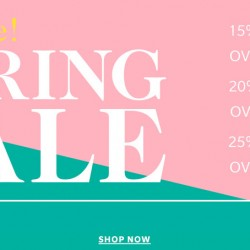 Shopbop: Spring Sale Up to 25% OFF