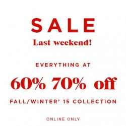 Mango: Online Exclusive Sale -- 60% to 70% OFF Sitewide