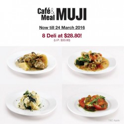 MUJI Singapore: healthy deli meal for 2 at a discounted price