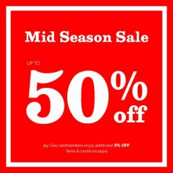 New Look: Mid Season Sale -- Up to 50% OFF