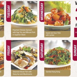 OCBC: 30% OFF Selected Daily Dishes at Paradise Inn