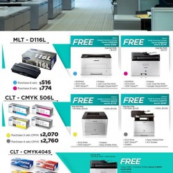 Challenger Singapore: Samsung Instant Print Program Promotion