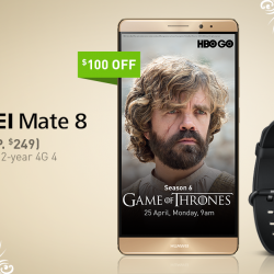 StarHub: Huawei Promotion -- Get a FREE Huawei band B0 with the new Huawei Mate 8