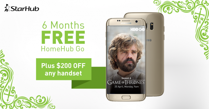 StarHub IT SHOW 2016 Promotion Enjoy 6 months of FREE HomeHub