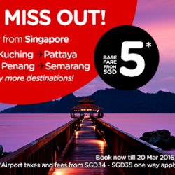 AirAsia: Special Fares from only $5!