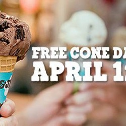 Ben & Jerry's: Free Cone Day 2016