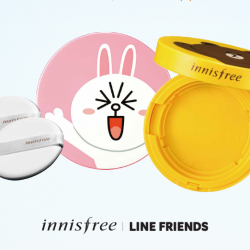 Innisfree: Cushion Day - Free LINE Friends Eco-Friendship Cushion Case with Purchase of Cushion