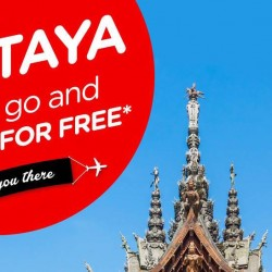 AirAsia: Airfare Promotion - Pay to Go Pattaya and Come Back for FREE