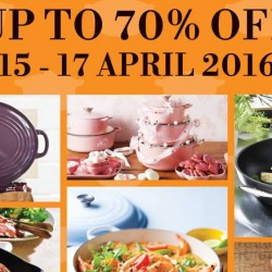 Le Creuset: Family Sales up to 70% OFF