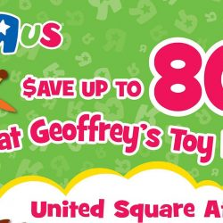 "Toys ""R"" Us: Geoffrey's Toy Bazaar Up to 80% OFF"