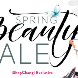 iShopChangi: Spring Beauty Sale Up to 20% OFF