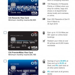 Citibank: Free $80 Takashimaya voucher when you apply for a Citibank Credit Card