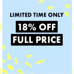 ASOS: Coupon Code for 18% OFF Full Price Items