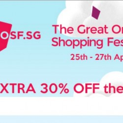 Groupon: The Great Online Shopping Festival 2016 Exclusive Offer - Up to Extra 30% OFF Selected Deals