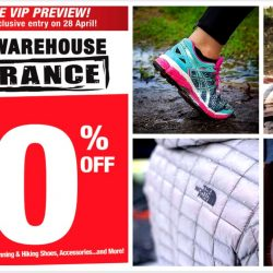 Outdoor Venture: Sports Warehouse Clearance Sale Up to 80% OFF Asics, The North Face, Saucony, Nike & more