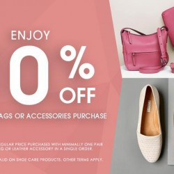 ECCO: 10% OFF Promotion with purchase of shoes, bags or accessories
