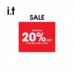 i.t. Labels: Mid-Season Sale up to 50% off 5cm, Chocoolate, Fingercroxx & izzue