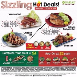 Sakae Sushi: Sizzling Hot Deals --- from only S$11.99