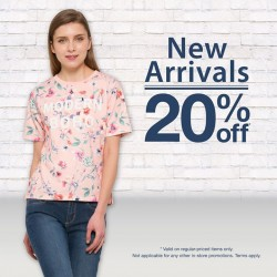 Bossini Singapore: Spring collection Promotion --- 20% OFF