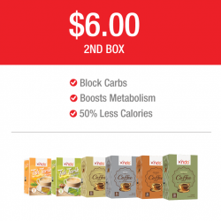 Xndo: XNDO Tea and Coffee Box Promotion --- $6 SECOND BOX
