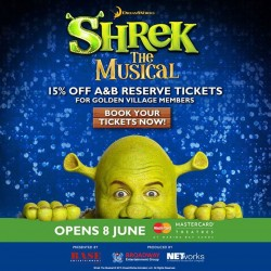 Shrek the Musical Early Bird Promotion --- 15% OFF