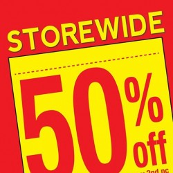 GIORDANO Singapore:  STOREWIDE Promotion --- 50% OFF every 2nd piece