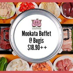 Mookata Thai BBQ: Lunch Buffet Promotion @ Bugis