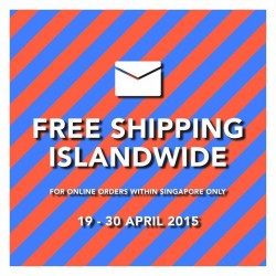 Actually: Free Shipping Islandwide