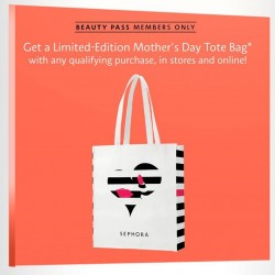 Sephora: Free Limited Edition Mother's Day Tote for Beauty Pass Members