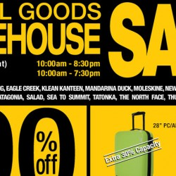 Travel Goods Warehouse Sale Up to 90% OFF