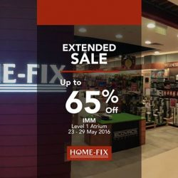 Home-Fix: Extended Sale at IMM up to 65% OFF