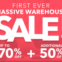 HipVan: Massive Warehouse Sale Up to 70% + Extra 50% OFF with Coupon Code