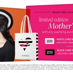 Sephora: Coupon Code for Free Limited Edition Mother's Day Tote