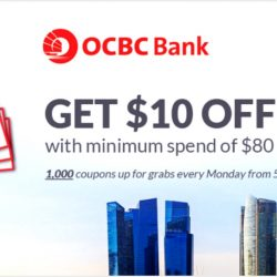 OCBC: Get $10 Qoo10 Discount Coupon Every Monday in May